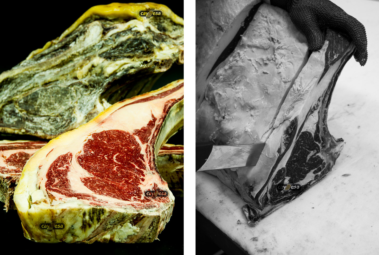 Carnes de vaca Rubia Gallega