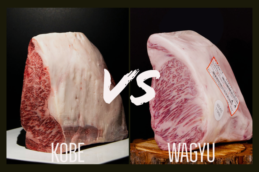 Carne de Wagyu y KOBE